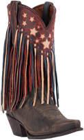 Dan Post Women's Liberty Fringe Western Leather Boot
