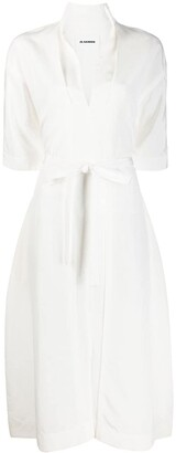 Jil Sander Tie-Waist Dress