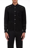 Comme des Garcons Men's Cutout-Sleeve Shirt-BLACK