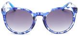 Diane von Furstenberg Women&s Cat Eye Sunglasses