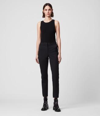 AllSaints Arie Lea Mid-Rise Cropped Slim Pants