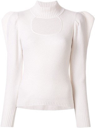 Manning Cartell Australia Structured Shoulder Cut-Out Detail Sweater