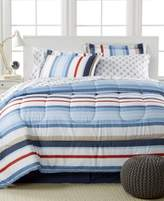 Sunham Highline 8-Pc. Reversible California King Bedding Ensemble