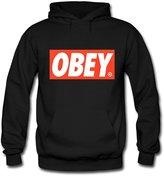 OBEY Logo Printed Hoodies OBEY Logo Printed For Mens Hoodies Sweatshirts Pullover Tops