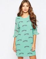 Sugarhill Boutique Zebra Print Tunic Dress