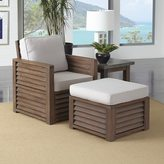 Home Styles Barnside Chair, Ottoman, and End Table by Home Styles
