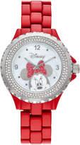 Disney Disney's Minnie Mouse Women's Crystal Watch