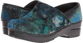 Sanita Original Vegan Velvet Flower Women's Clog Shoes