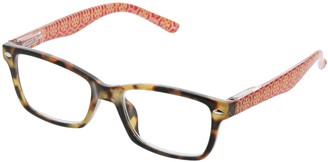 Peepers Women's Gypsy Soul - Tortoise/floral 2494325 Square Reading Glasses