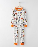 Peanuts Long John Kids Pajamas In Organic Cotton