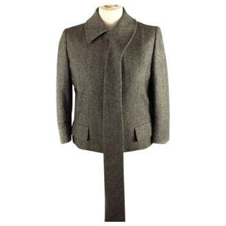 Alexander McQueen Brown Wool Jackets