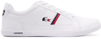 Lacoste Europa logo embroidered sneakers