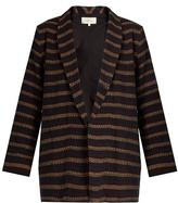 The Great The Cabana woven cotton-blend jacket