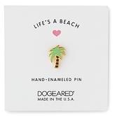 Dogeared Life's A Beach Palm Tree Pin