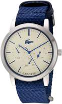 Lacoste Men's 2010875 - Metro Stainless Steel