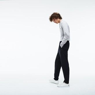 Lacoste Men's Motion Pleated Stretch Wool Twill Chino Pants