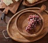 Pottery Barn Farmhouse Wood Carving Platter