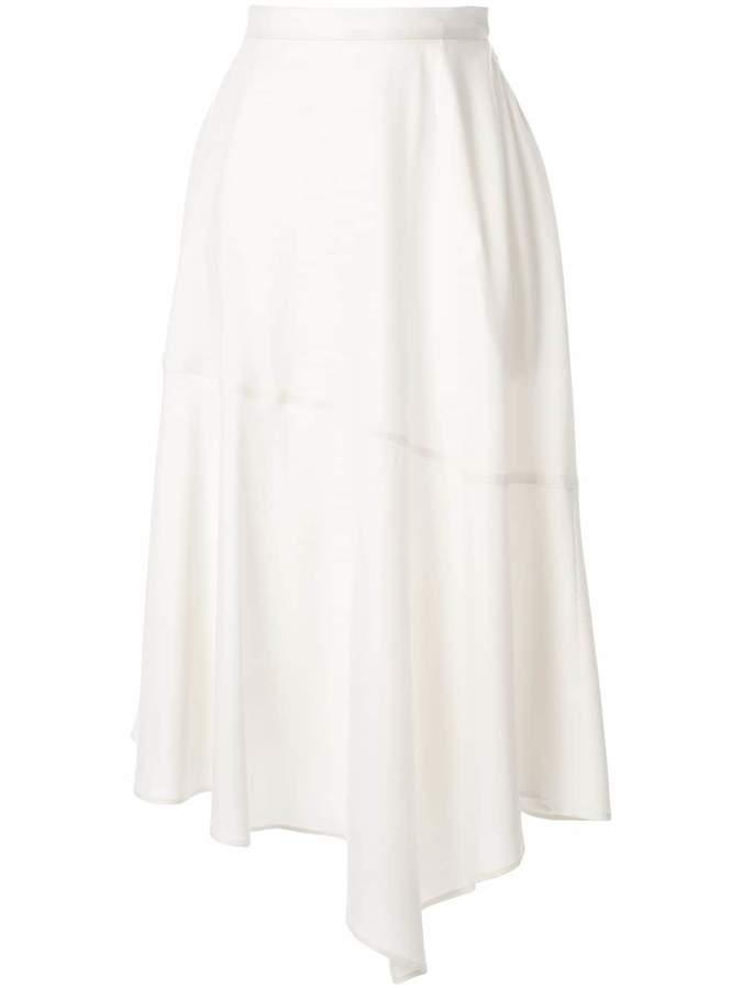 G.V.G.V. asymmetric hem skirt