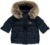 Tartine et Chocolat Down Jacket with Detachable Hood