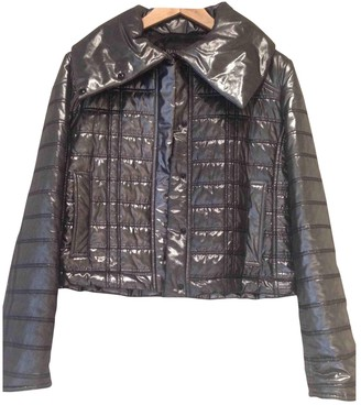 Ramosport Silver Leather Jacket for Women