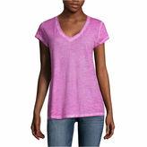 A.N.A a.n.a Short Sleeve V Neck T-Shirt-Talls