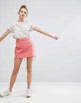 Weekday Skirt With Raw Hem