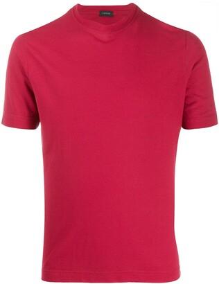 Zanone Basic cotton T-shirt