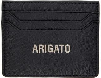 Axel Arigato Black Saffiano Cardholder