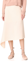 JENNY PARK Belita Unbalanced Hem Skirt