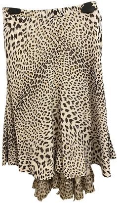 Roberto Cavalli Silk Skirt for Women Vintage