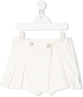 Moncler Enfant Pleated Front Skort