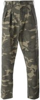 Faith Connexion camouflage print trousers - men - Cotton - S