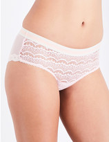 Mimi Holliday Bisou Bisou Fairy Floss lace and mesh briefs