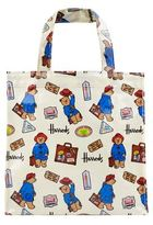 Harrods Small Paddington Bear Shopper Bag