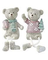 Fashion World Set 2 Christmas Danggly Bears