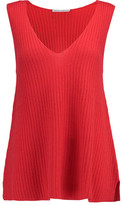 Autumn Cashmere Ribbed Cashmere Tank