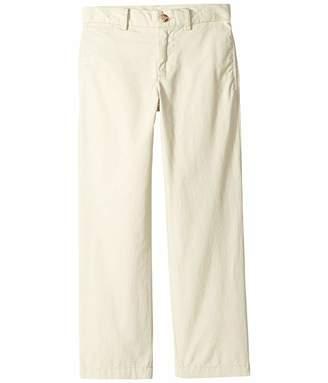Polo Ralph Lauren Slim Fit Cotton Chino Pants (Little Kids) (Basic Sand) Boy's Casual Pants