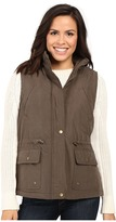 KC Collections Micro Cotton Vest with Hood