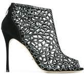 Sergio Rossi Women's Black Suede Heels.