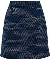 M Missoni Crochet-Knit Mini Skirt