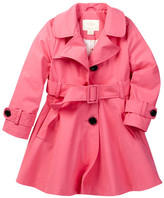 Kate Spade diane trench coat (Toddler & Little Girls)