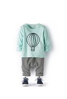 Country Road Hot Air Balloon T-Shirt