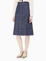 Kate Spade Denim a-line skirt