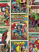 Marvel Graham & Brown Comics Strip Wallpaper - Multi