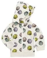 Stella McCartney Baby's Bertie Seashell-Print Cotton Hoodie