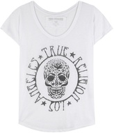 True Religion Printed Cotton-blend T-shirt