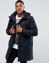 Religion Parka With Packable Peaked Hood