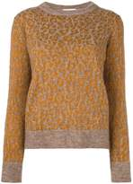 Christian Wijnants leopard pattern jumper