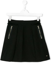 Karl Lagerfeld a-line skirt - kids - Cotton/Polyester - 14 yrs