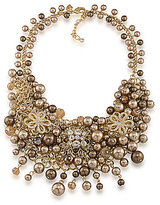 Carolee Metropolitan Club Statement Cluster Necklace